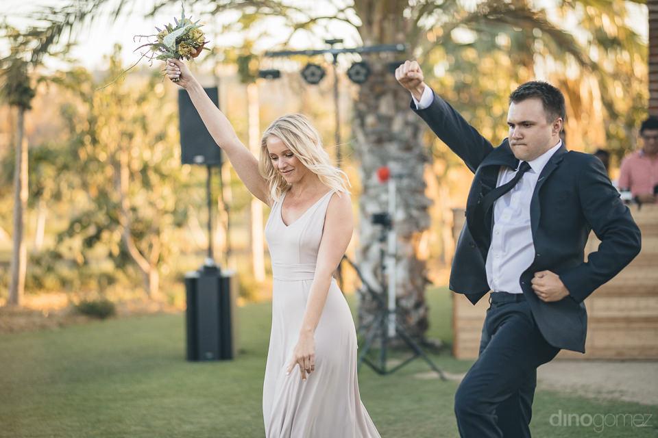 fun boho wedding at flora farms in los cabos